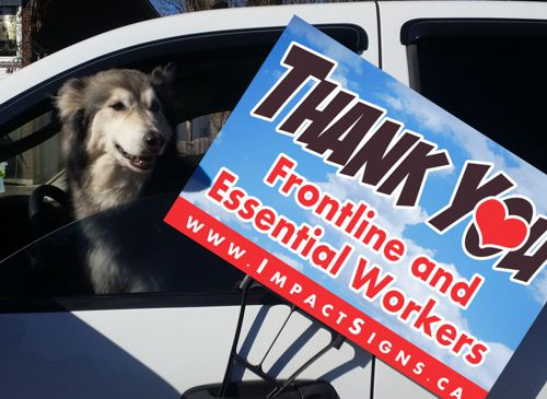 Thank You to Essential and Front Line Workers -